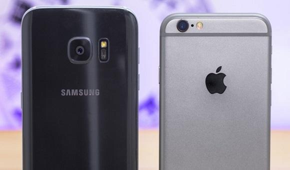 Samsung снова опередила Apple на рынке смартфонов в США - главное фото