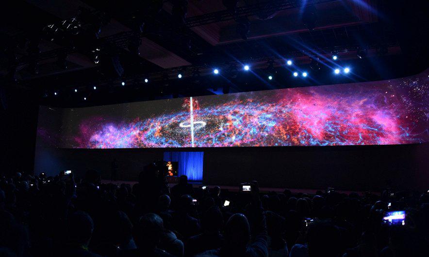 Samsung-телевизоры фото с выставки