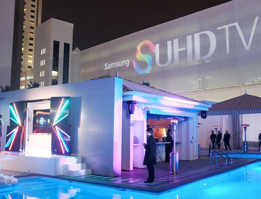 Samsung-телевизоры на CES 2015