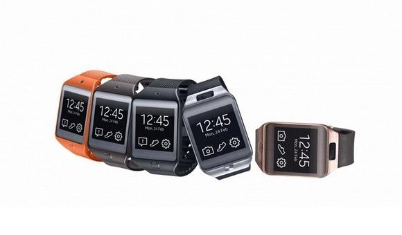 Анонс новых умных часов Samsung Galaxy Gear 2 и браслета для спорта Samsung Gear Fit с MWC-2014