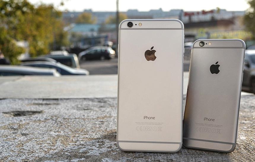 Самые интересные смартфоны 2014 года - iPhone 6 и iPhone 6 Plus (задняя панель)