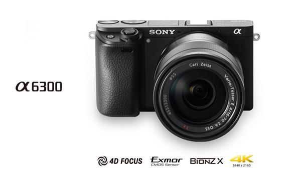 Sony представила камеру α6300 с самой быстрой в мире автофокусировкой