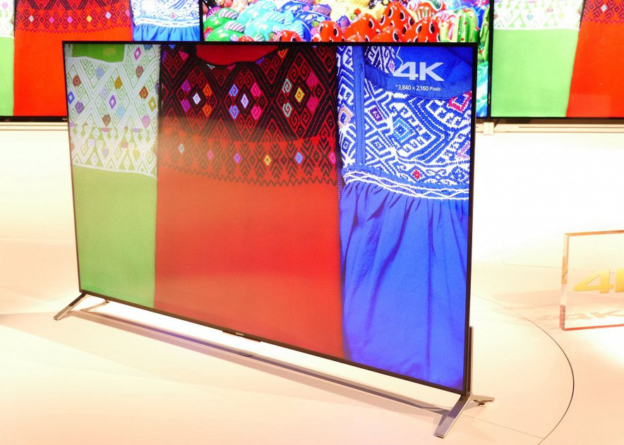 Sony-4К-телевизоры CES-2015