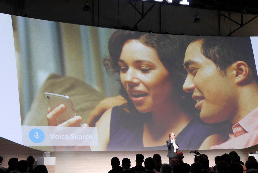 Sony Android TV-управление голосом