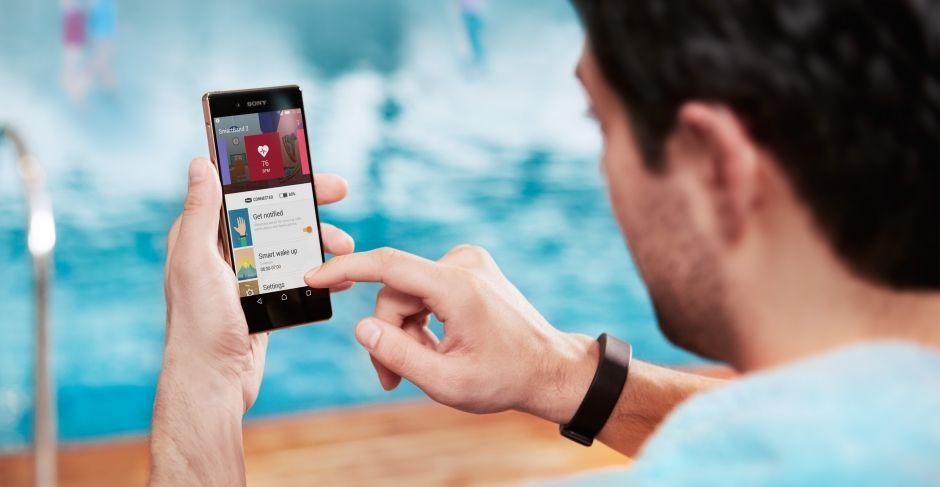 Sony SmartBand 2 SWR12-контроль активности