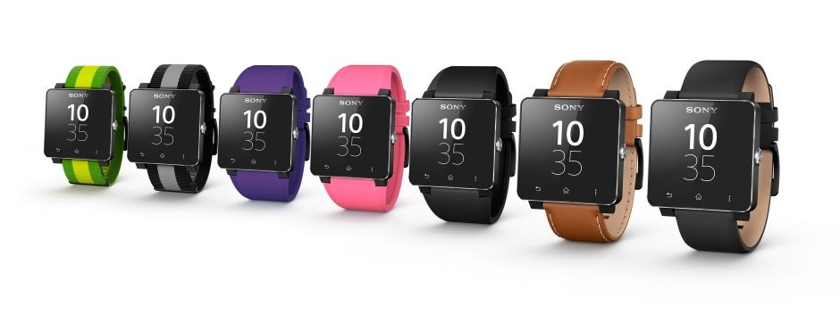 Sony SmartWatch 2 SW2 - цвета