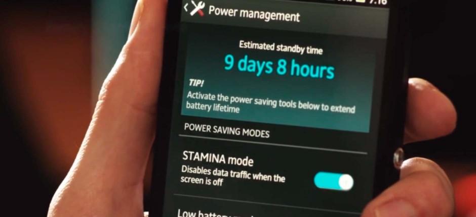 Sony Xperia C3- Автономная работа