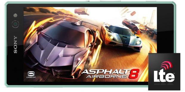 Sony Xperia C3-игры