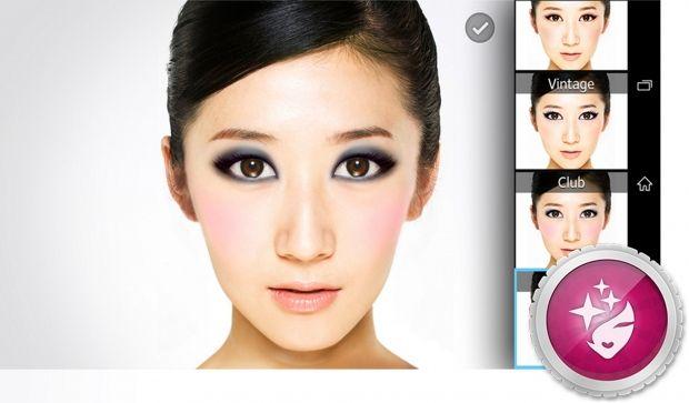 Sony Xperia C3-приложение Portrait Retouch переносной салон красоты