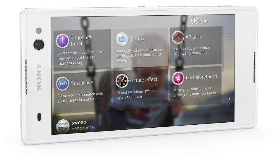 Sony Xperia C3-приложения для камеры