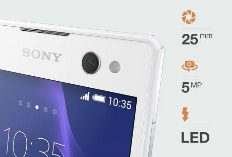 Sony Xperia C3-пятимегапиксельная камера