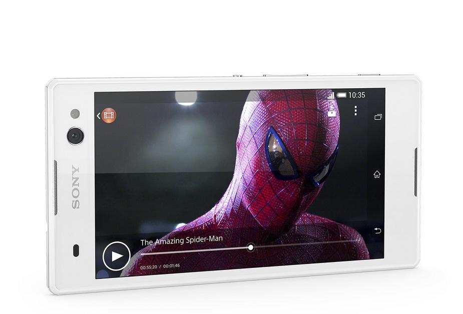 Sony Xperia C3 white-Экран