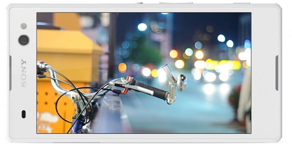 Sony Xperia C3 white- 4 Экран