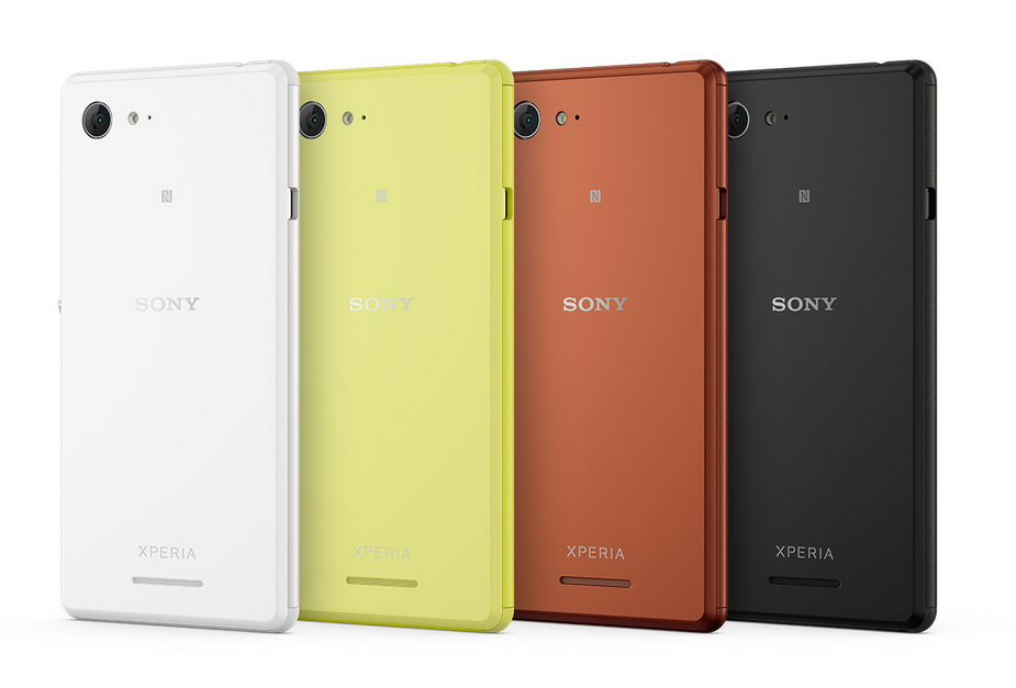 Sony Xperia E3-Расцветки корпуса