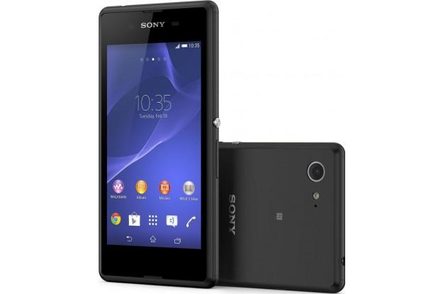 Sony Xperia E3 black-Экран и Задняя панель