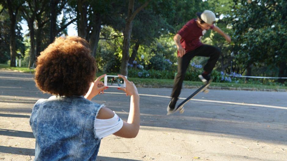 Sony Xperia E3-поймать момент