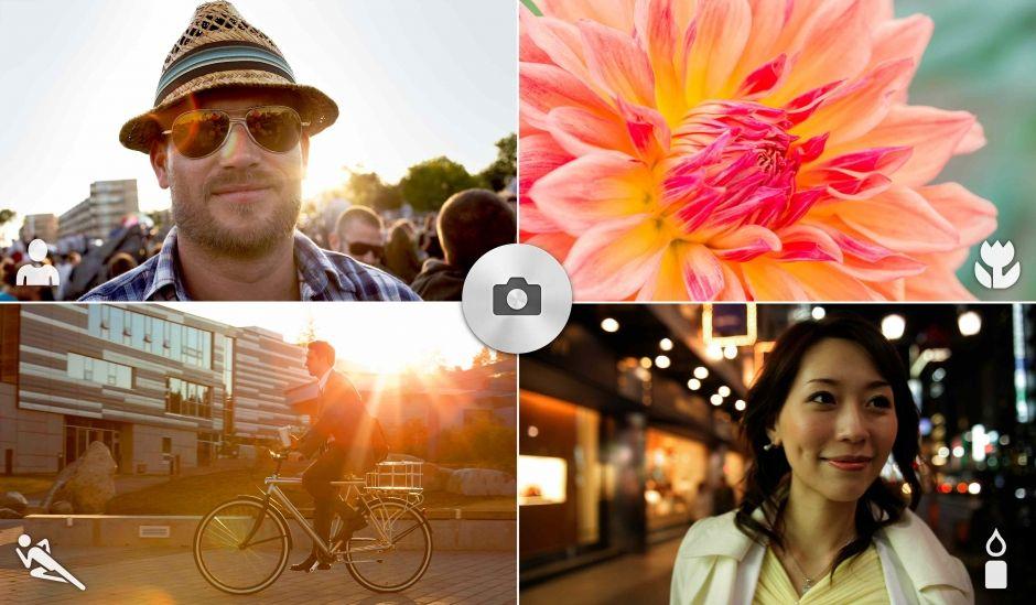 Sony Xperia E3-возможности камеры