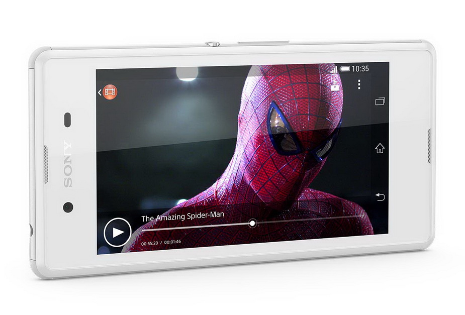 Sony Xperia E3 white- экран