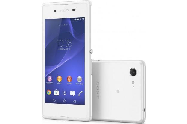 Sony Xperia E3 white-Экран и Задняя панель