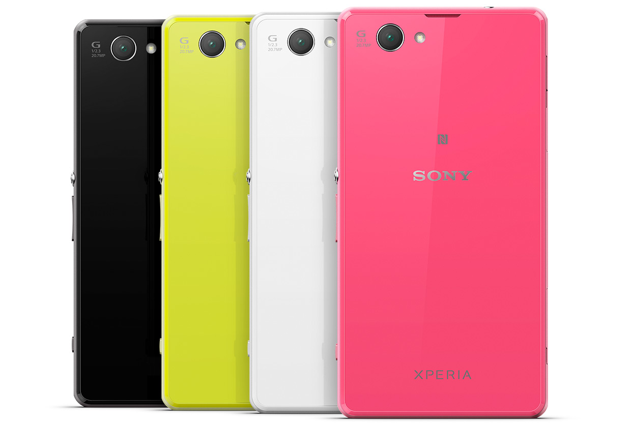Sony Xperia Z1 Compact - цвета