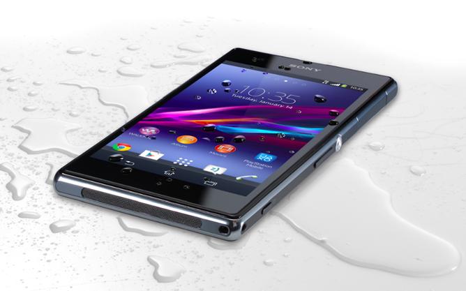Sony Xperia Z1 Compact - влагозащищенный корпус