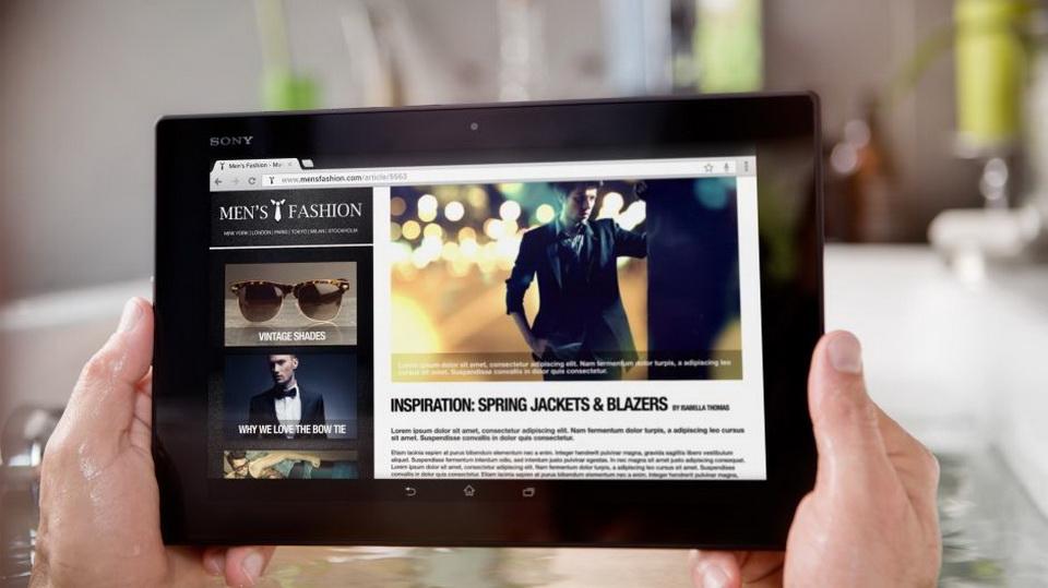 Sony Xperia Z2 Tablet-имиджевая картинка