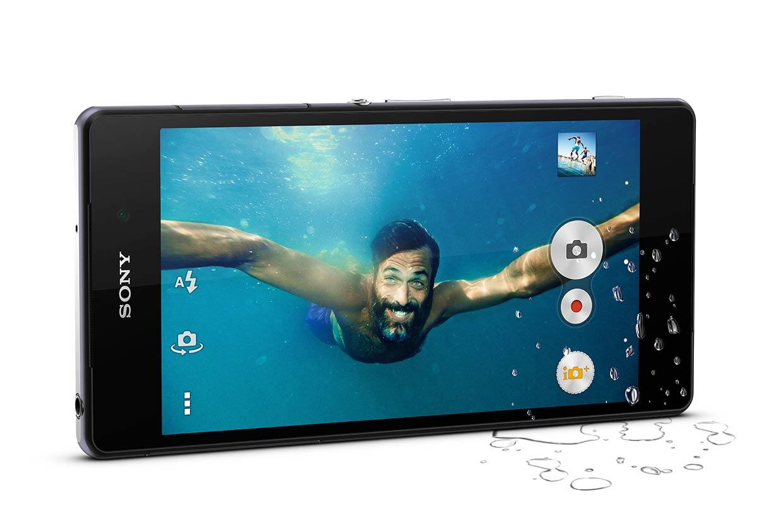 Sony Xperia Z2 - защита от влаги и пыли