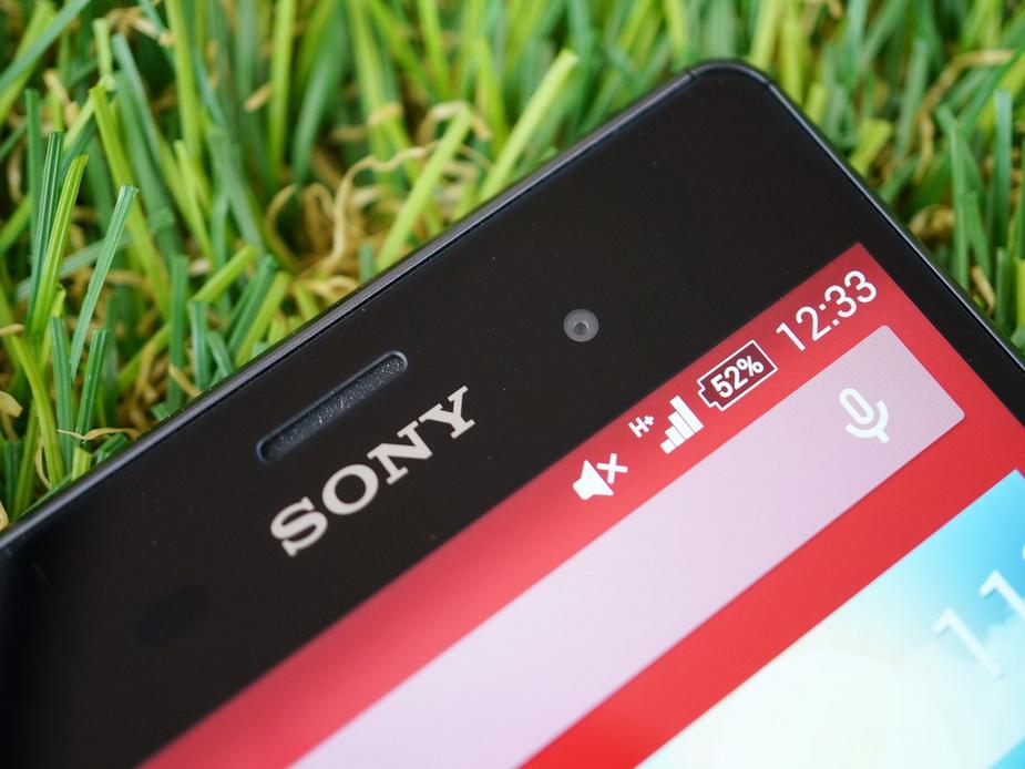 Sony Xperia Z3- экран