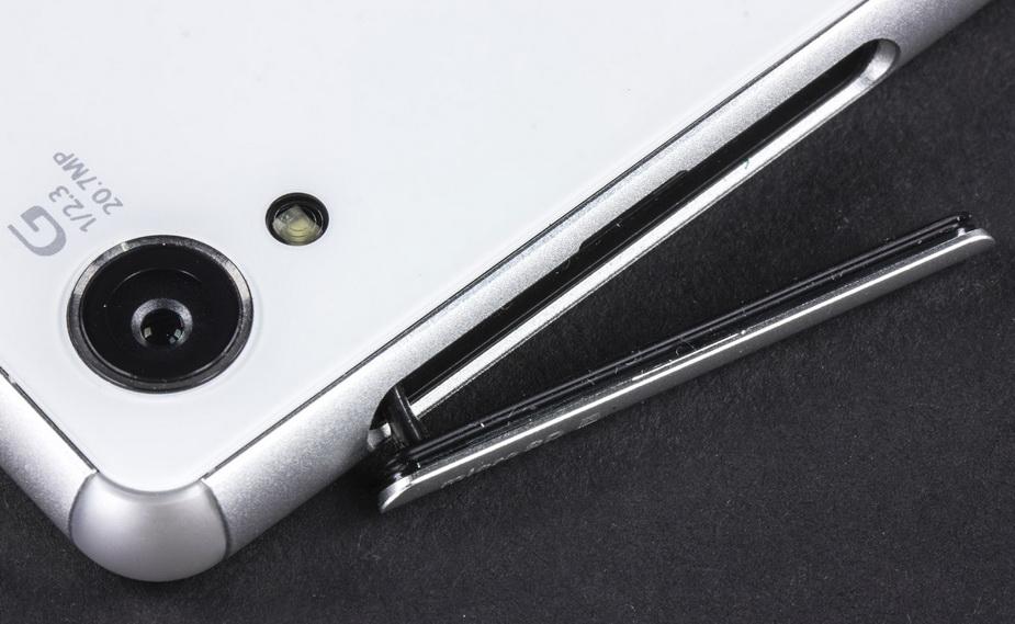 Sony Xperia Z3- Интерфейсы