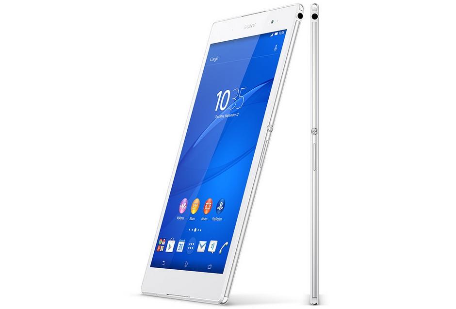 Sony Xperia Z3 Tablet-экран и толщина корпуса
