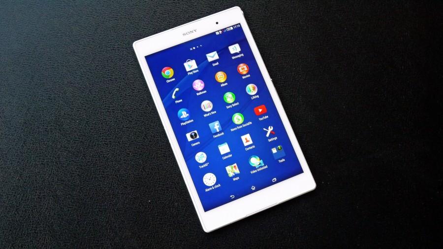 Sony Xperia Z3 Tablet-экран