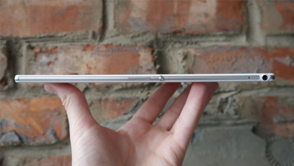 Sony Xperia Z3 Tablet-эргономика