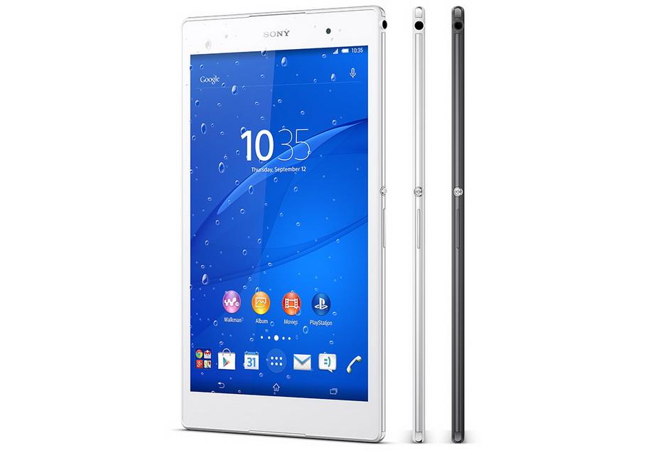 Sony Xperia Z3 Tablet-ракурсы