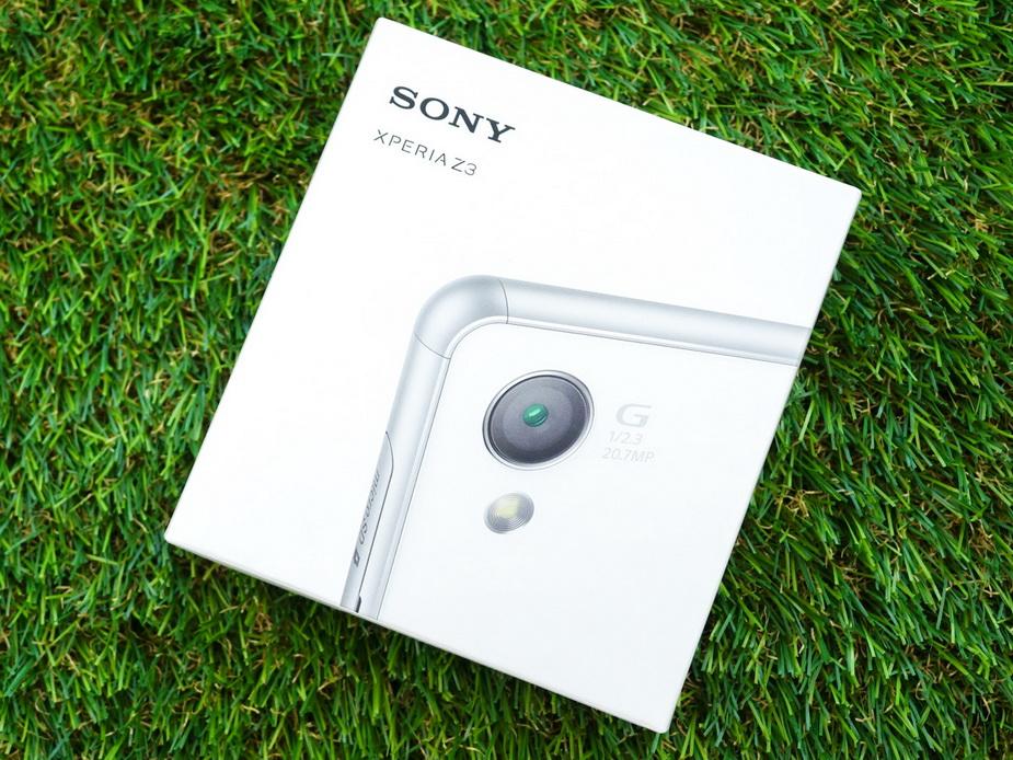 Sony Xperia Z3-бокс