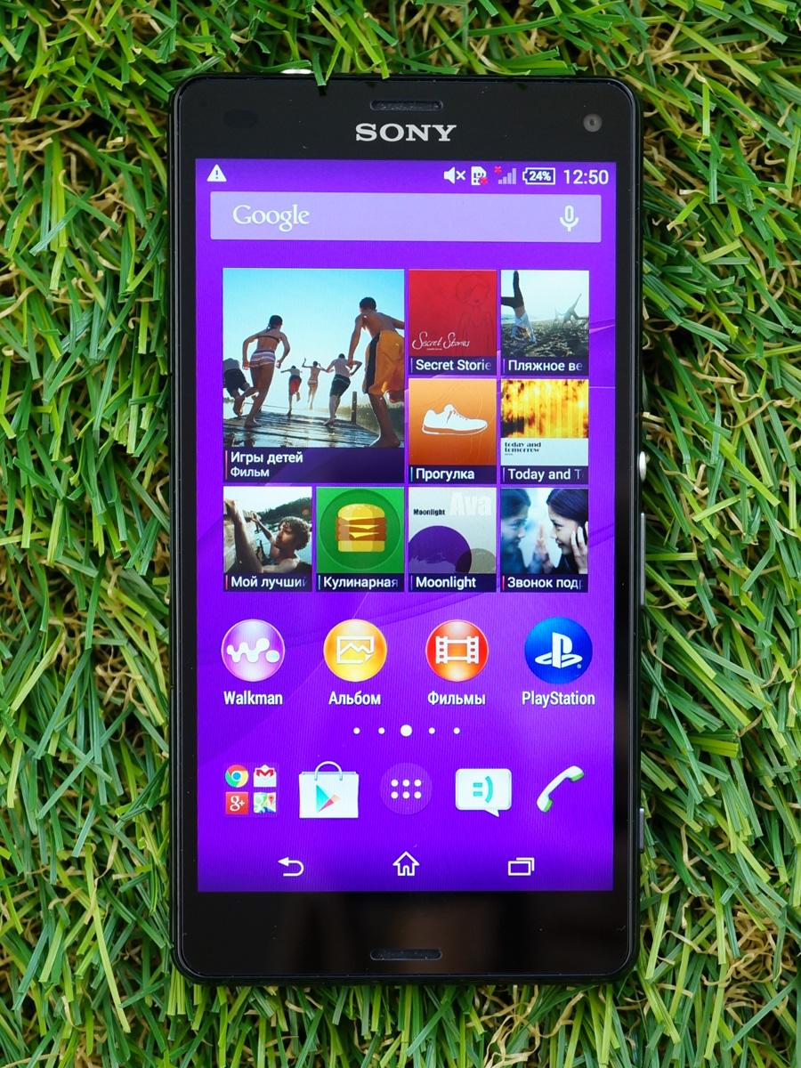 Sony Xperia Z3 compact D5803-экран