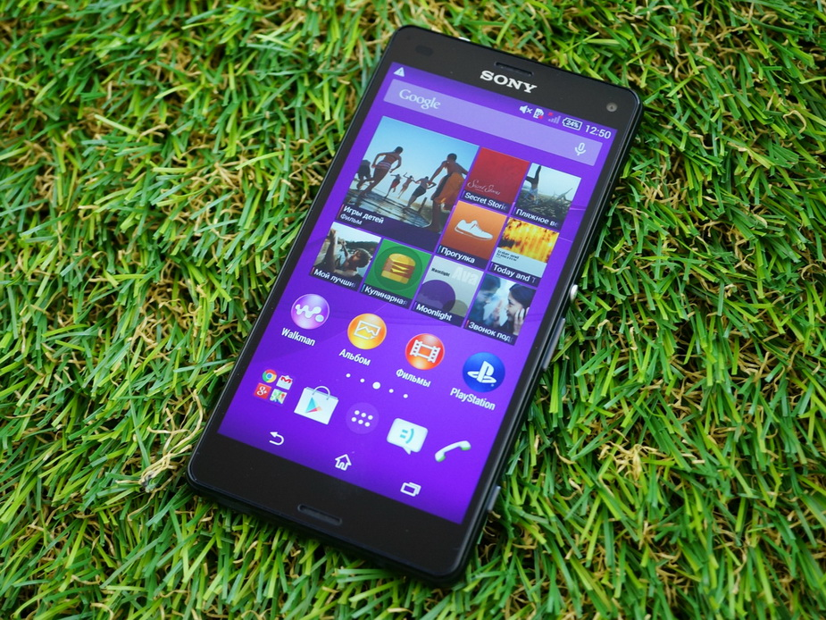 Sony Xperia Z3 compact D5803- экран