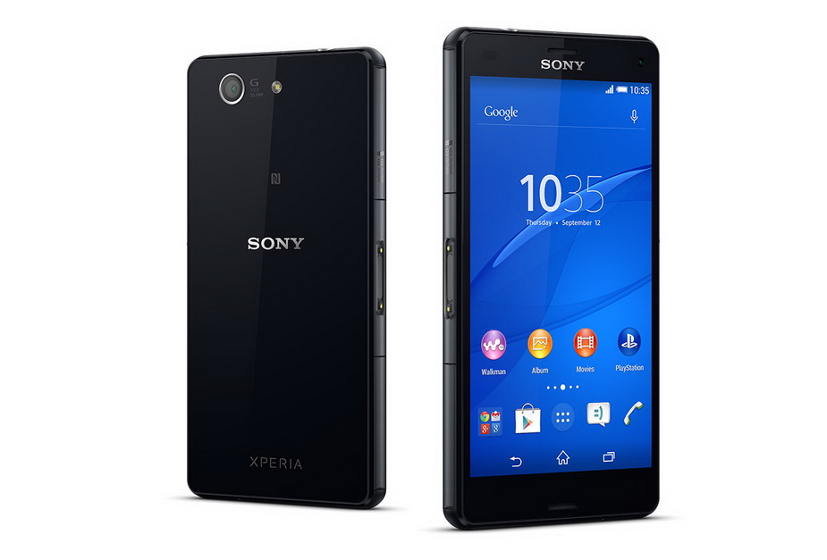 Sony Xperia Z3 compact D5803 black-два ракурса