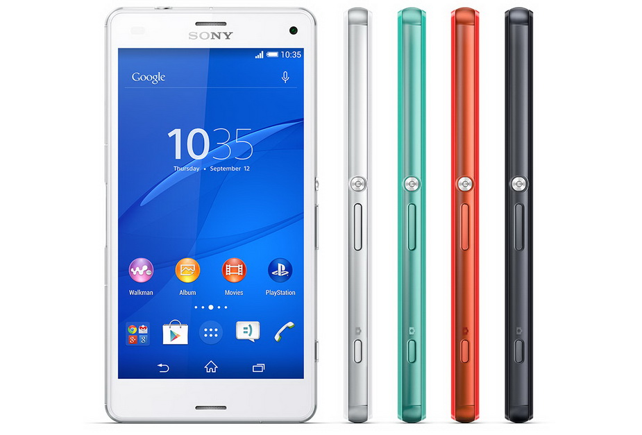 Sony Xperia Z3 compact D5803-несколько ракурсов варианты расцветок