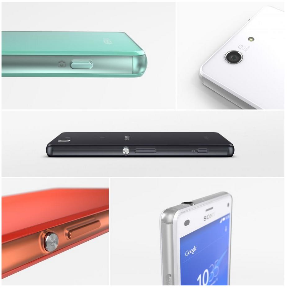 Sony Xperia Z3 compact D5803-внешний вид устройства