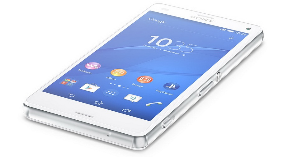 Sony Xperia Z3 compact D5803 white- экран