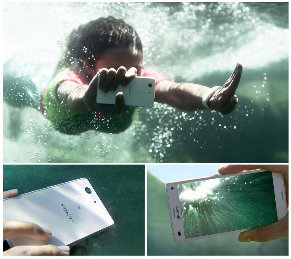 Sony Xperia Z3 compact D5803-защита от попадания воды