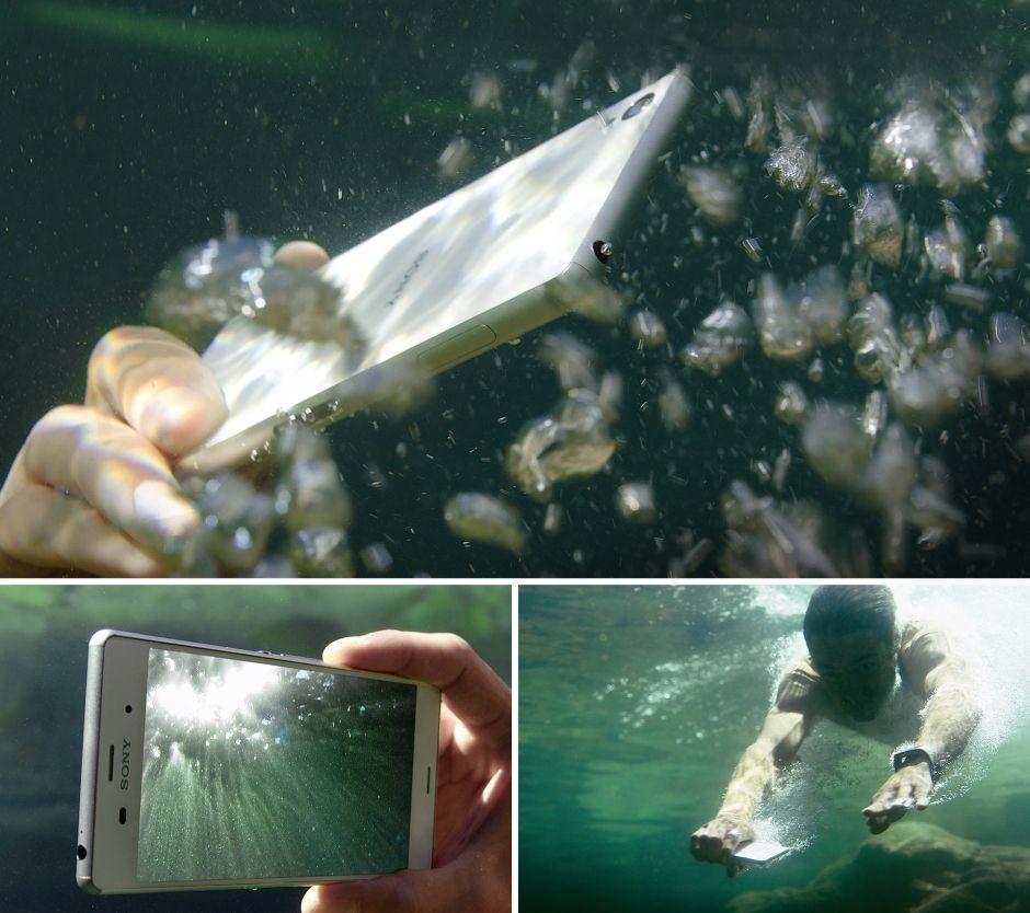 Sony Xperia Z3-высший уровень водостойкости