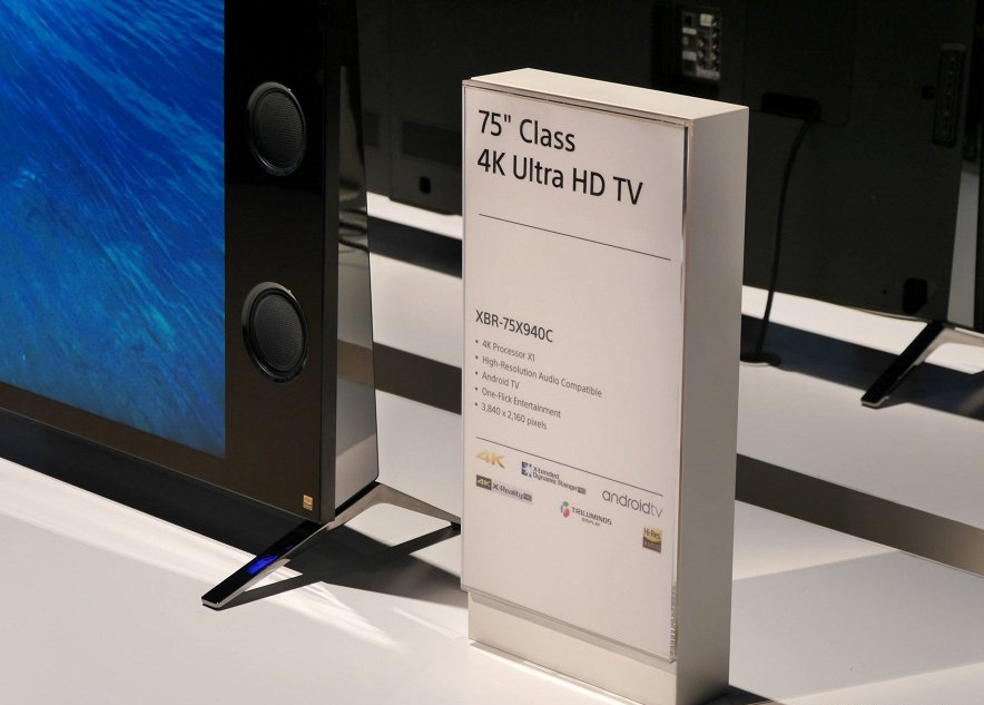 Sony-динамики XBR 75X940C
