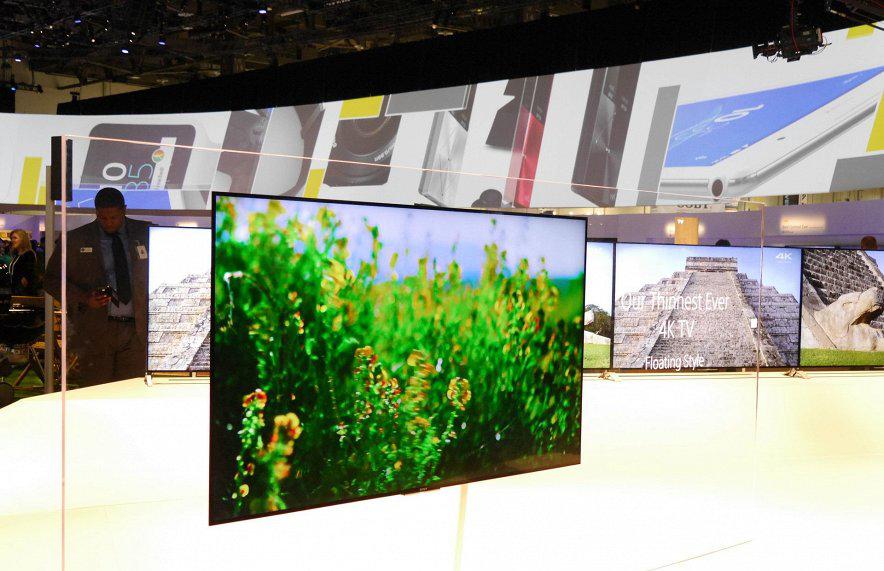 Sony-новые телевизоры фото с выставки