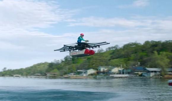 Стартап Kitty Hawk показал прототип «летающего автомобиля»
