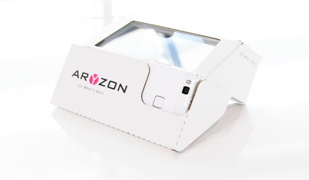 Стартап недели от АЛЛО: Aryzon — 3D дополненная реальность для каждого смартфона