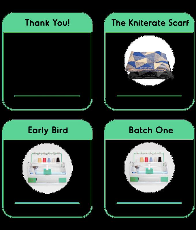 Стартап недели от АЛЛО. Kniterate - умная вязальная машина – комплекты поставки