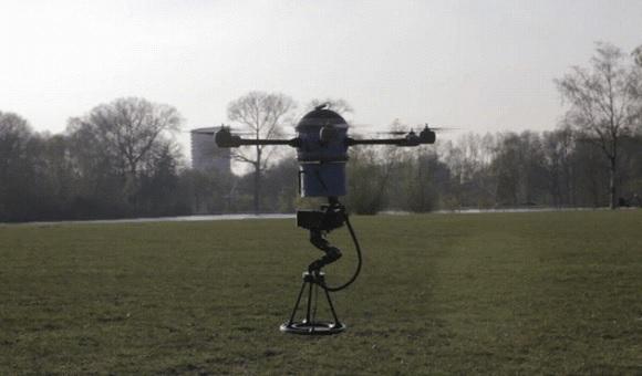 Стартап недели от АЛЛО: Mine Kafon — дрон для уничтожения мин!