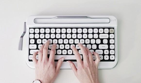 Стартап недели от АЛЛО: Penna — bluetooth-клавиатура в стиле печатной машинки