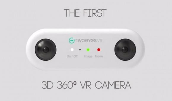 Стартап недели от АЛЛО. TwoEyes VR - мини-камера виртуальной реальности - главное фото